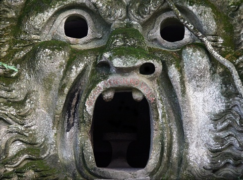 cave face