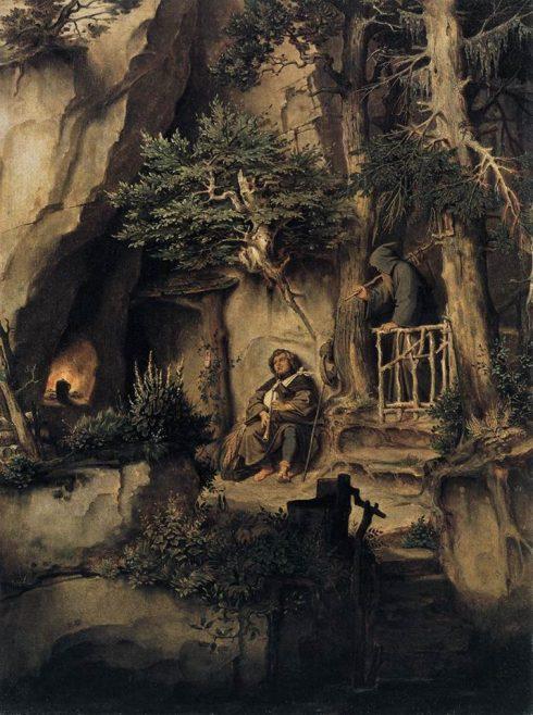 hermit cave