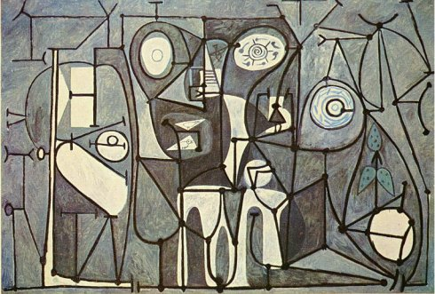 Kitchen - Picasso - 1948